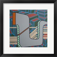 Lines Project 50 Framed Print