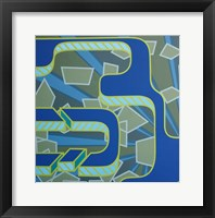 Lines Project 51 Framed Print