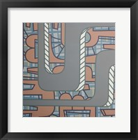 Lines Project 52 Framed Print