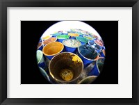 Cups And Tape 5 Framed Print