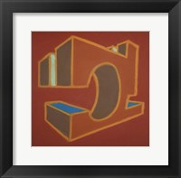 Project Third Dimension 2 Framed Print