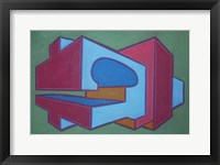 Project Third Dimension 4 Framed Print