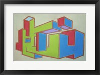 Project Third Dimension 5 Framed Print