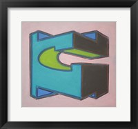 Project Third Dimension 6 Framed Print