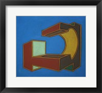 Project Third Dimension 7 Framed Print