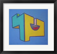 Project Third Dimension 8 Framed Print