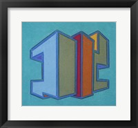 Project Third Dimension 13 Framed Print