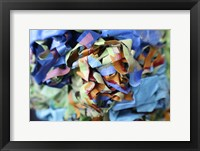 Color Cups & Tape 23 Framed Print