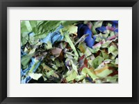 Color Cups & Tape 44 Framed Print
