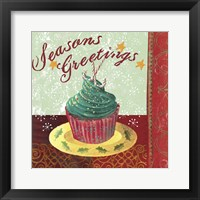 Framed Cupcake Holidays IV