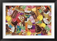 Framed Ice Cream Collage