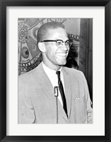 Framed Malcolm X