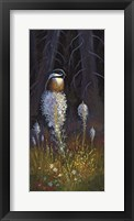 Framed Beargrass Chickadee