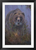 Framed Mountain Ash Grizzly