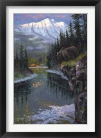 Framed Southfork Grizzly