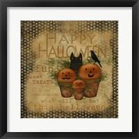 Framed Happy Halloween