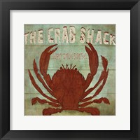 The Crab Shack Framed Print