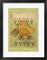 Framed Single Easter Chick Xl