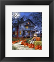 Framed Spooky House