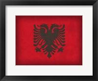 Albania Framed Print