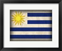 Uruguay Framed Print