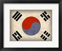 Southkorea Framed Print