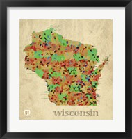 Framed Wisconsin