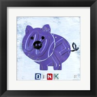 Oink The Pig Framed Print