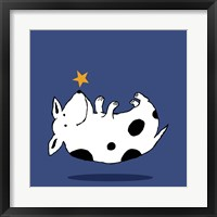 Framed Star Dog