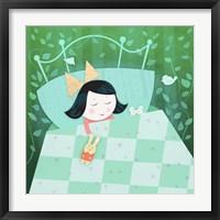 Sweet Dream Girl Framed Print
