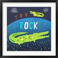 You Rock Framed Print