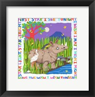First Star I See Tonight Framed Print