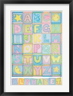 Framed Alphabet