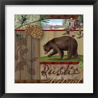 Framed Rustic Retreat I