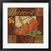 Framed Harvest Time I