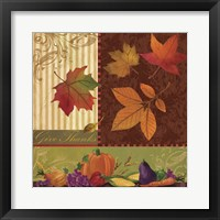 Harvest Time II Framed Print