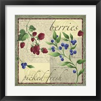Framed Berry Patch
