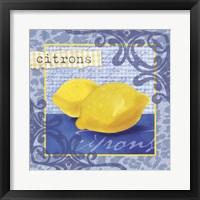 Framed Citrons