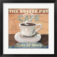 Framed Coffee Pot