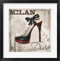 Framed Milan Style