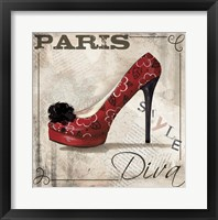 Framed Paris Style