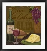 Framed Vino Calabria
