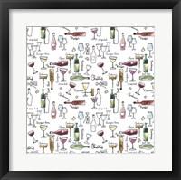Taste of Wine I Framed Print
