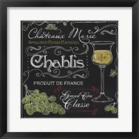 Framed Wine Chalkboard III