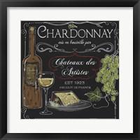 Framed Wine Chalkboard IV