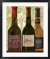Vino Italiano Framed Print