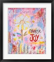 Framed Choose Joy