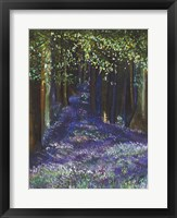 Framed Dreaming Of Blue Bells