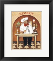 Desserts Framed Print