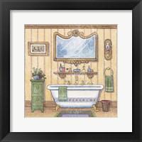In The Bath I Framed Print